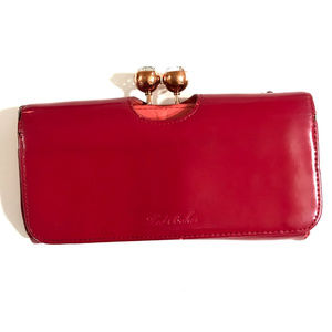 Ted Baker London Bobble Patent Leather Wallet